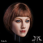 Lin Head Sculpt (Short Auburn Hair)<BR>PRE-ORDER: ETA March 2018