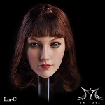 Lin Head Sculpt (Long Auburn Hair)<BR>PRE-ORDER: ETA March 2018
