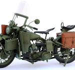 WWII US Army Motorcycle