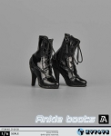 Ankle High Boot/Feet<BR>(Black)