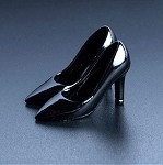 High Heel Shoes (Black) for 6-Inch Figures<br>(1:12 Scale)<BR>PRE-ORDER: ETA Q3 2019