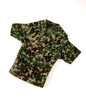 Shirt: JGSDF Camo, Short Sleeves