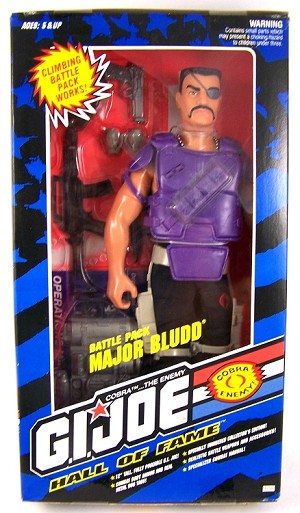 Hall of Fame: Battle Pack Major Bludd