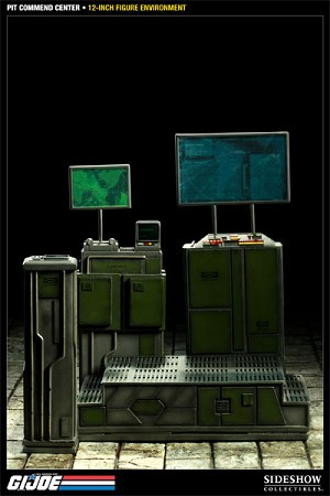 G.I. Joe: The Pit Command Center<BR>1:6 Scale Diorama Base