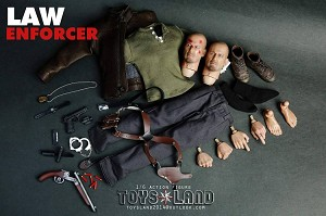 Law Enforcer Outfit & Head Sculpt Set