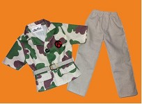 Camo Action Shirt & Pants<BR>PRE-ORDER: ETA Oct. 2020
