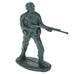 "Toy Army Men 6.75"" Tall - Standing Soldier"