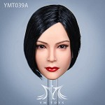 Ada Female Head Sculpt (Black Hair)<BR>PRE-ORDER: ETA Q3 2020
