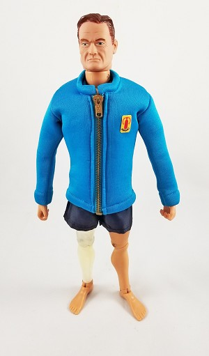 Blue Frogman Jacket with Shorts (Neoprene Material)