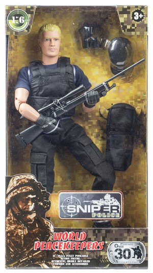 World Peacekeepers: Sniper (Police)