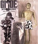 GI Joe Club 2018 Black & White Action Soldier w/Box