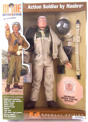 Action Soldier Crewcut Edition: US Army Tank Crewman (White Hair)