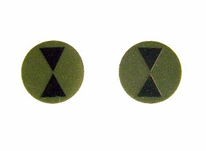 7th Infantry Division Patch (Subdued) Pair