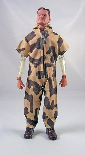 AT Style Short-Sleeve Jumpsuit<BR>(Amoeba Camo)