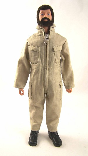 Pocketed Jumpsuit - Tan