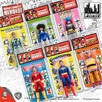 Retro DC Comics <BR>Action Figures Set (1:9)<BR> (Kresge Style, Series 1)<Br>6 Figure Set<BR><B>Save $35!</B>