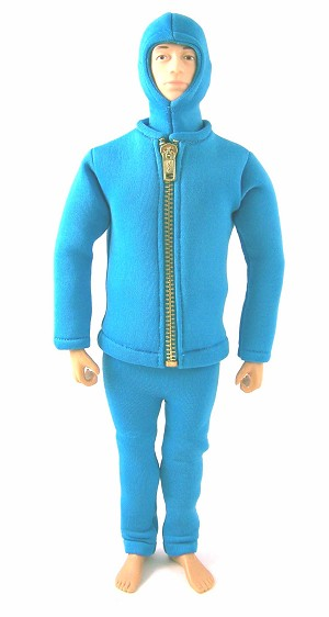 Blue Frogman Outfit Set (Neoprene Material)