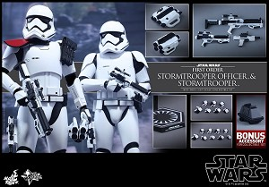 Star Wars: TFA First Order<BR>Stormtrooper Officer and Stormtrooper