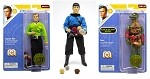Star Trek 3 Piece Figure Set - Series 6<BR>(1:9 Scale)