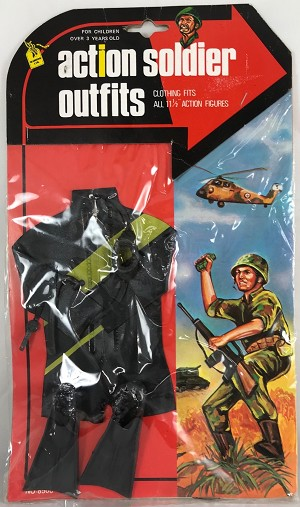 Action Soldier Outfits: Diver<br> Vintage GI Joe Knock Off