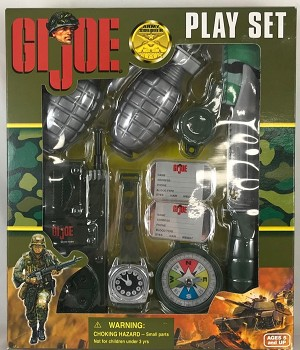GI Joe Army Soldier Play Set for 1:1 Scale Child