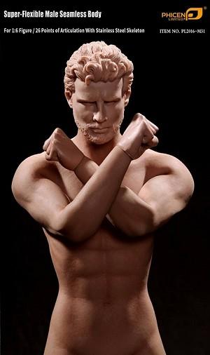 Super-Flexible Male Seamless Body (Version 2) | 1/6 Male