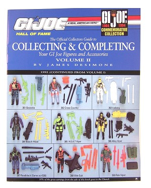 Official Guide To Collecting & Completing GI Joes: 1992-94 (Vol 2)