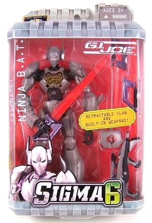 GI Joe Sigma 6 Code Name: Ninja B A T  (8 inch)