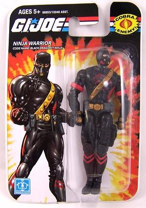 GI Joe Ninja Warrior, Code name: Black Dragon Ninja