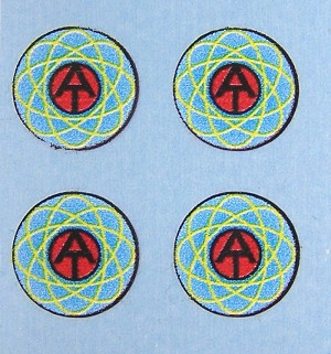 Cybernetic Explorer Uniform Decals (Set of 4)