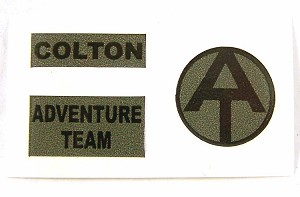 Explorer Uniform Decal Set
