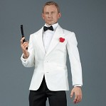Royal Agent Suit & Head Sculpt Set (White)