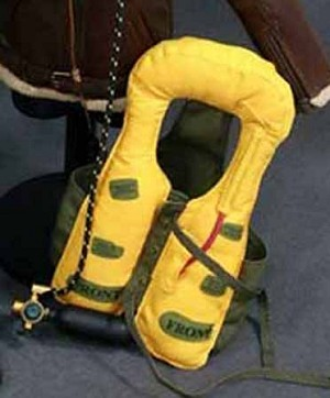 WWII RAF Fighter Pilot Life Jacket