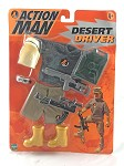 Action Man: Desert Driver Carded Accessory Set
