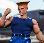 Street Bruiser American Soldier Outfit & Head Sculpts Set (Blue)