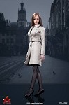 Female Trench Coat Set (Gray)