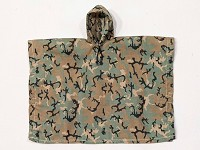 Poncho (Woodland Camo Version 3)