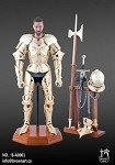 Gothic Armor Figure Set<BR>(Gold)<BR> Box condition C-7