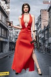 No Time To Die Female Outfit & Sculpt Set (Red Dress)<BR>PRE-ORDER: ETA Q4 2020