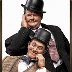 Stan Laurel and Oliver Hardy (Classic Suits) <BR>PRE-ORDER: ETA Q1 2021