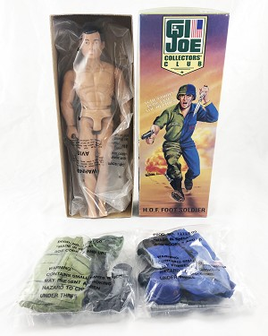 '96 GI Joe Club Excl.: H.O.F. Foot Soldier<BR>(GI Joe/Cobra Infantry Outfits & Acc.)