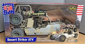 Desert Striker ATV w/2 Figures