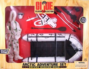 Arctic Adventure Set, Deluxe Mission Gear