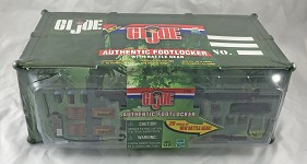 GI Joe Authentic Footlocker w/Battle Gear, Version 5