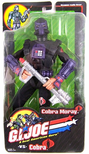 GI Joe Vs Cobra: Cobra Moray