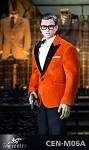 Royal Spy Suit & Head Sculpt Set (Orange)