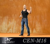 Tank Top/Jeans Outfit Set for Muscular Body (Black)<BR>PRE-ORDER: ETA Q4 2020
