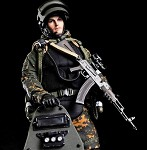 Russian Alpha Special Forces (Heavy Shield - 1:12 Scale)<BR>PRE-ORDER: ETA Q1 2020