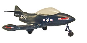 Reproduction GI Joe Panther Jet (Blue)