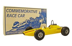 GI Joe Replica, Yellow Race Car - 1995 Las Vegas Convention